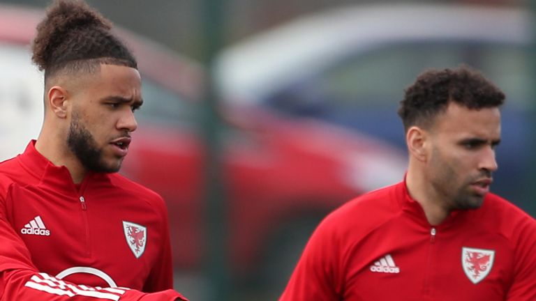 Tyler Roberts (left) and Hal Robson-Kanu (PA)