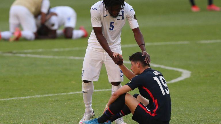 US coach Jason Kreis described the defeat to Honduras as 'like a tragedy'.