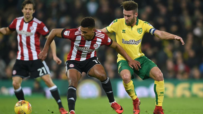 Ollie Watkins shone as a central striker for Brentford
