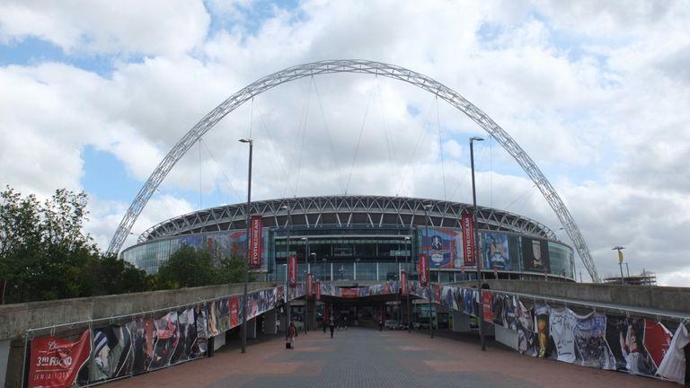 AP: Wembley Stadium