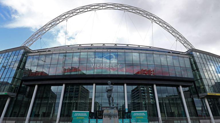 PA - Wembley Stadium GV