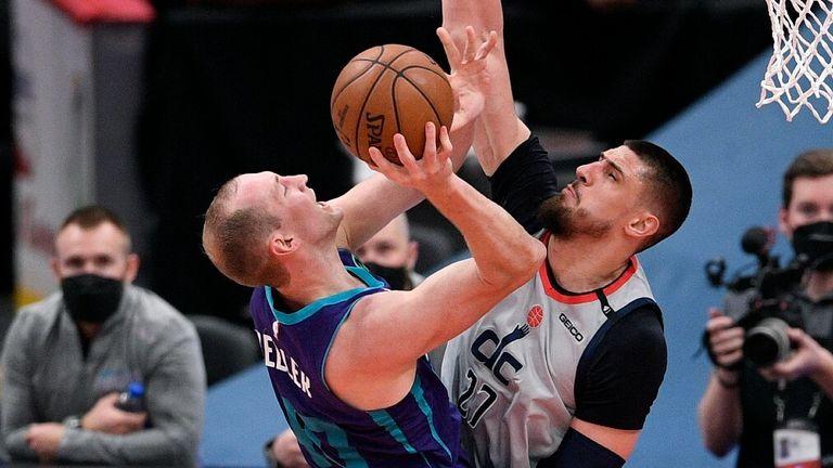 NBA Highlights: Wizards v Hornets