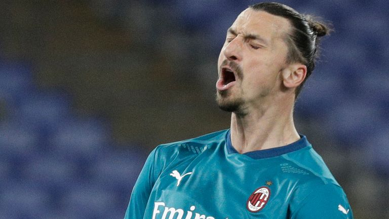 Zlatan Ibrahimovic is in a race to be fit to face Manchester United in the Europa League