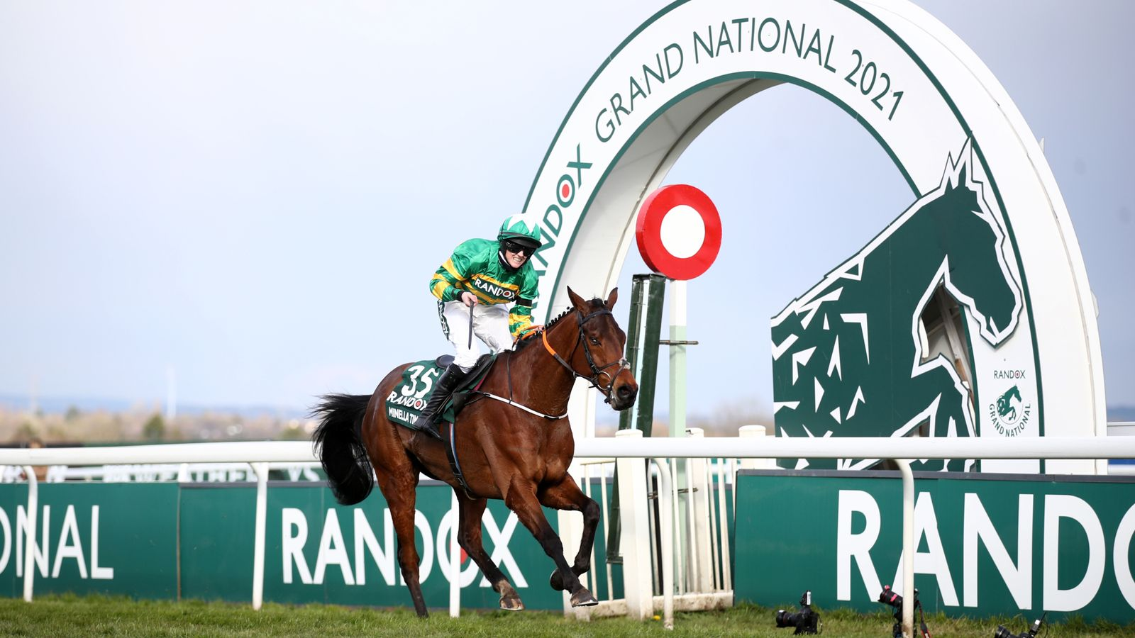 Rachael Blackmore makes Grand National history on Minella Times