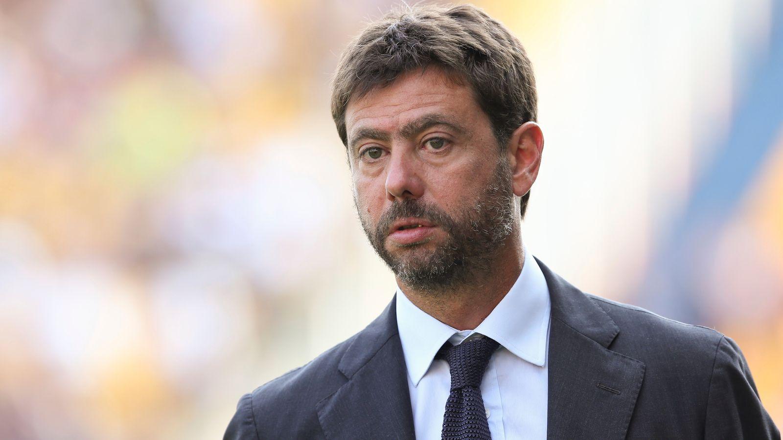 European Super League: Juventus chief Andrea Agnelli says breakaway league  cannot go ahead   Football News   Sky Sports