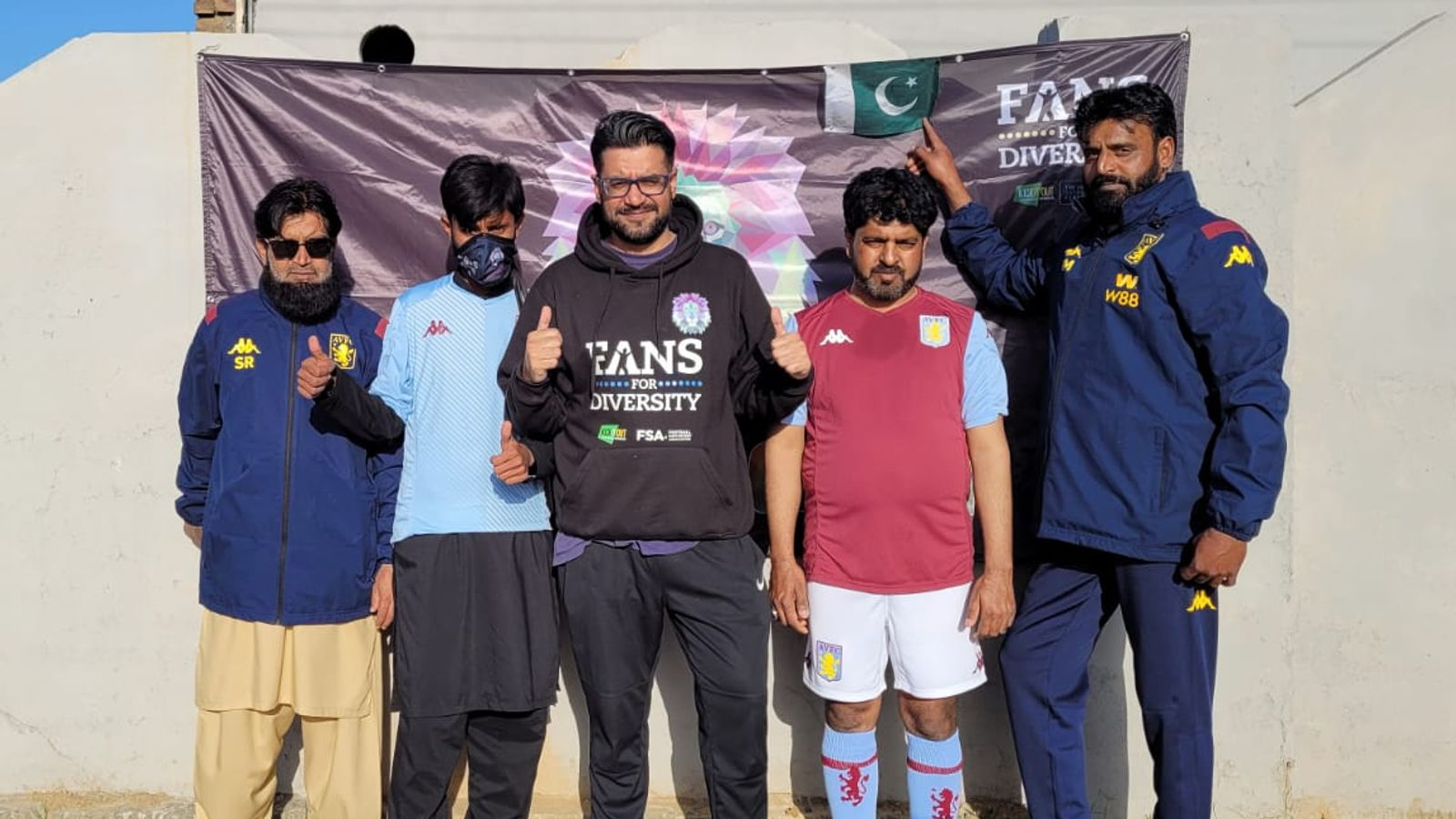Aston Villa fans group launched in Pakistan by Villans Together supporters' club