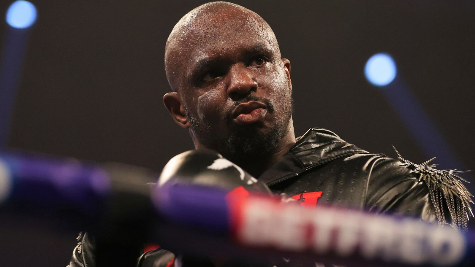 Deontay Wilder and Dillian Whyte exchange heated insults as heavyweight rivals welcome long-awaited grudge fight