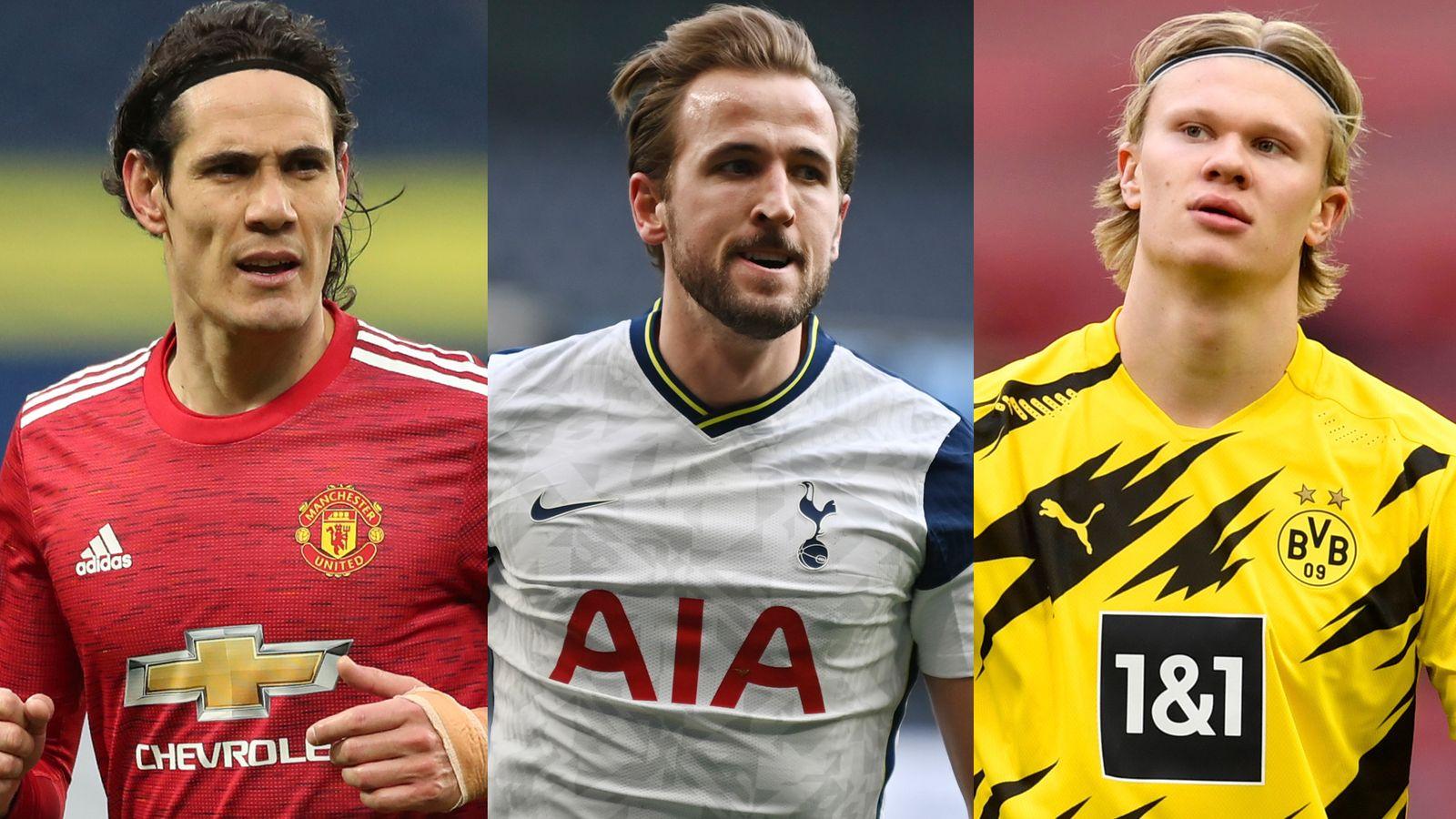 Edinson Cavani, Harry Kane, Erling Haaland: Who should be the striker for Man Utd?     Football news