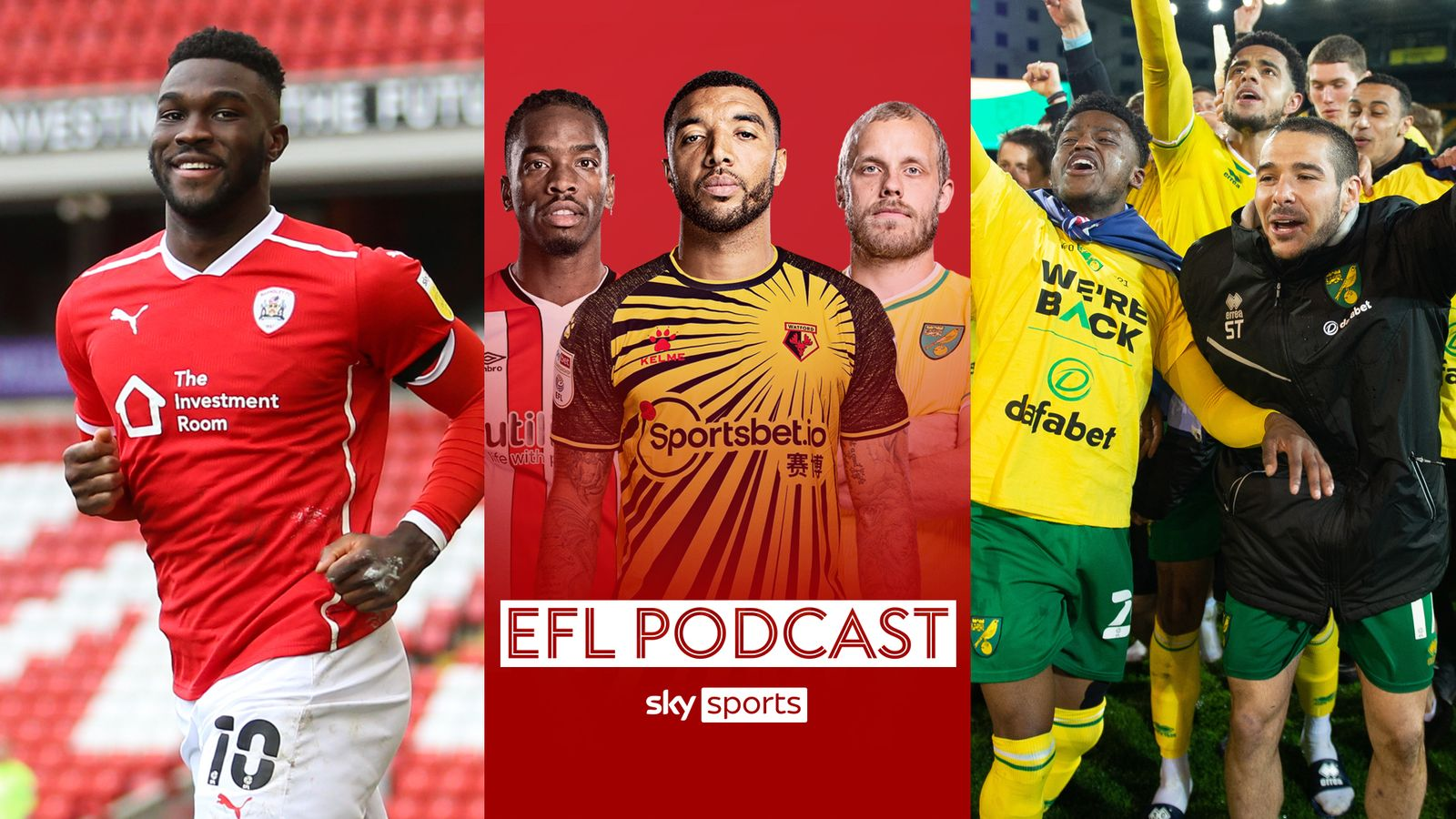 Sky Sports EFL Podcast: Norwich promoted to Premier League, Daryl Dike takes Ten To Tackle and weekend review