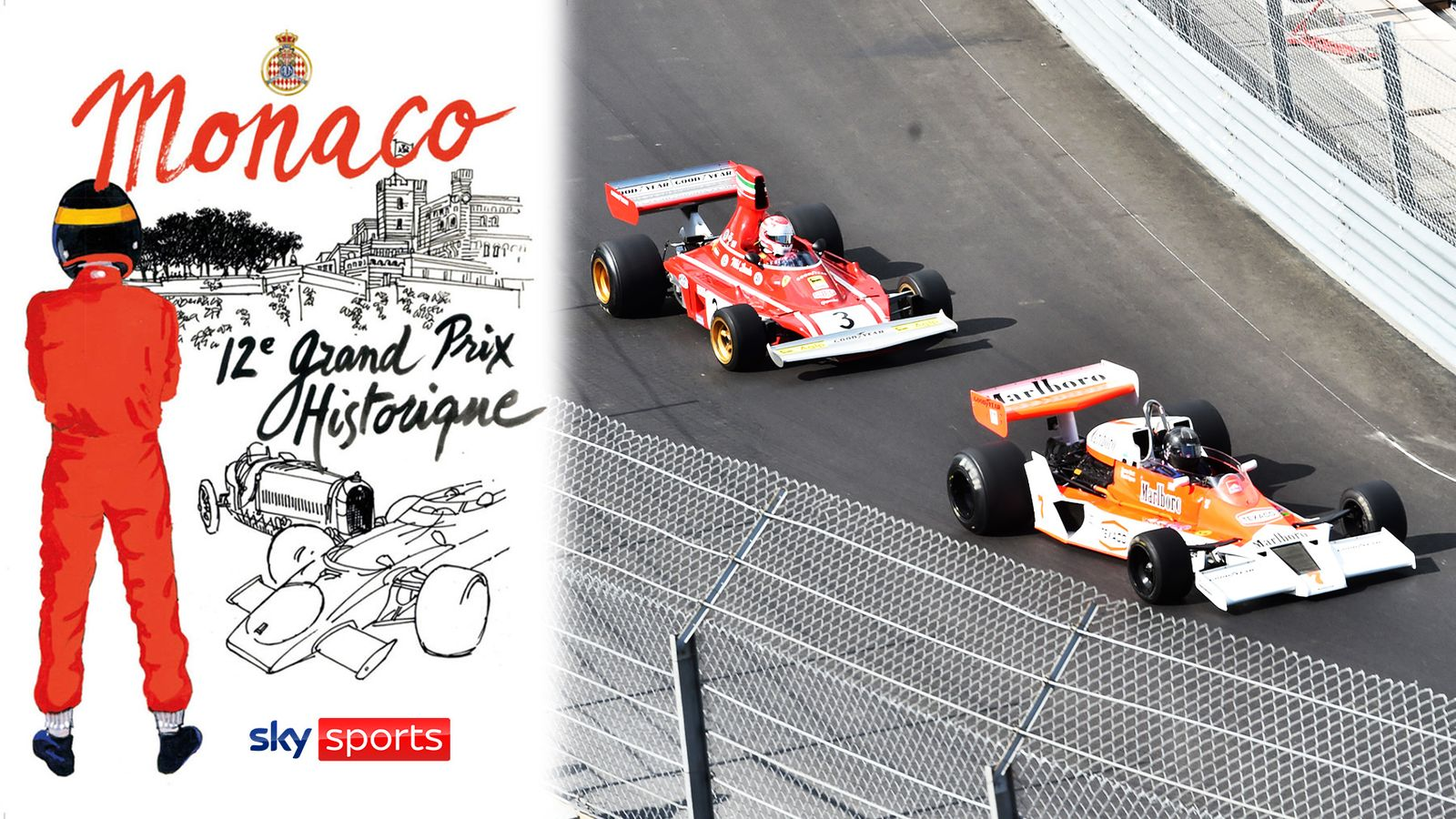 Monaco Historique: Watch classic Formula 1 cars race again on Sky Sports F1 YouTube this weekend