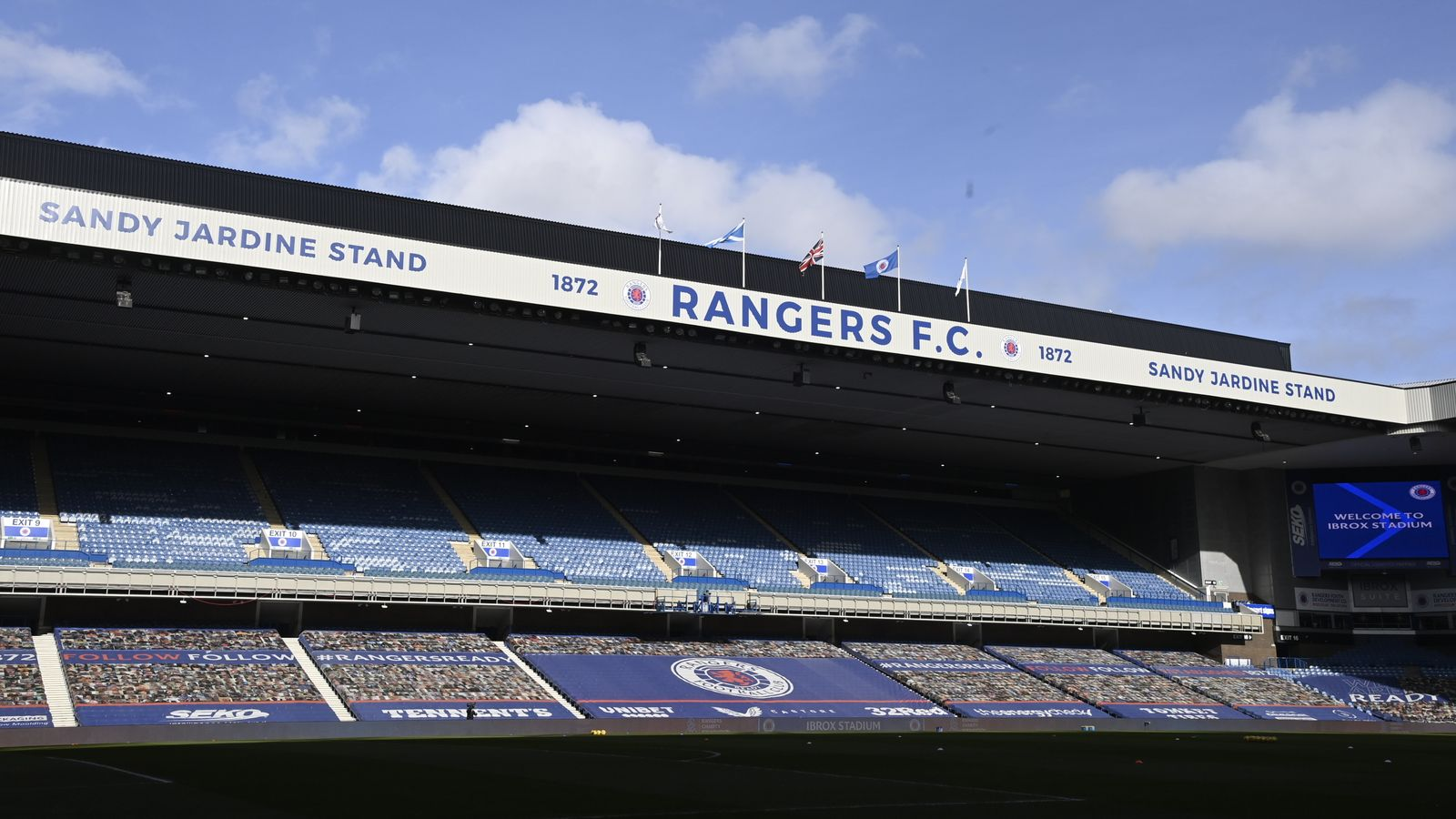 Old Firm to have full capacity crowds from next week; Rangers to play in full Ibrox for Malmo Champions League second leg