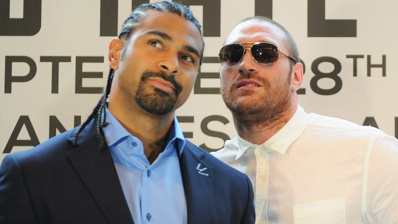 David Haye says Tyson Fury would have been overwhelmed by speed and power if their fight had gone ahead in 2013