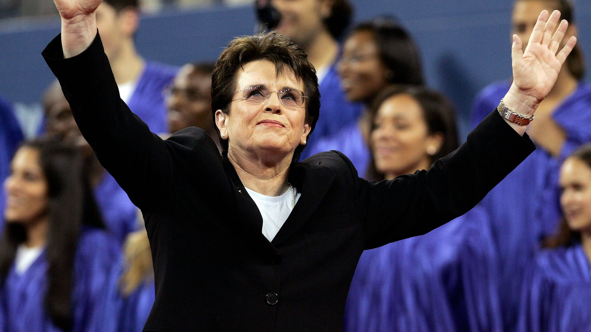 Billie Jean King: 'Show up, stand up and speak up'