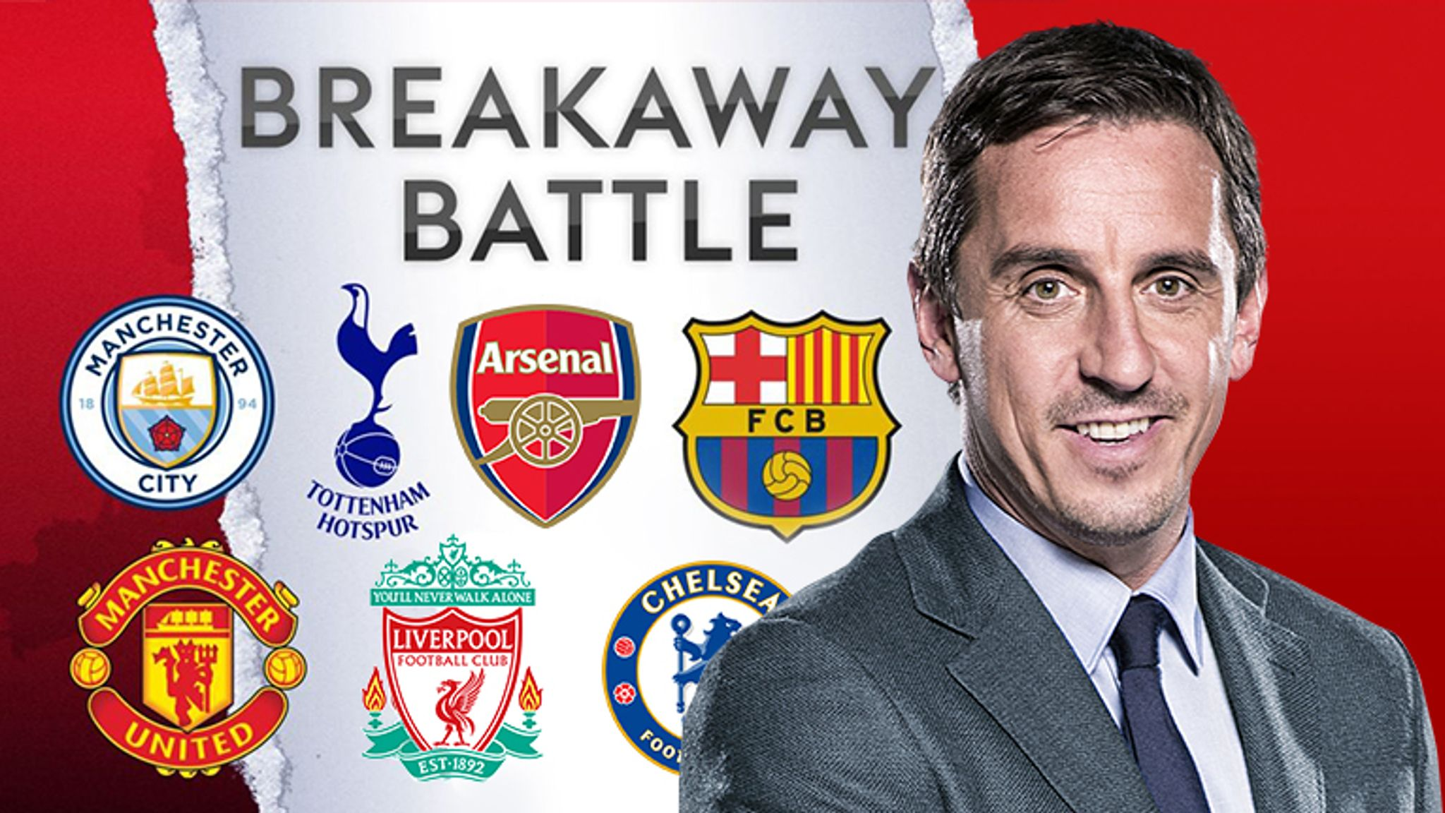 Gary Neville on European Super League plans: 'I'm fuming... but it wont go  through, not a chance' | Football News | Sky Sports