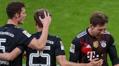 Leon Goretzka scored the winning goal for Bayern Munich
