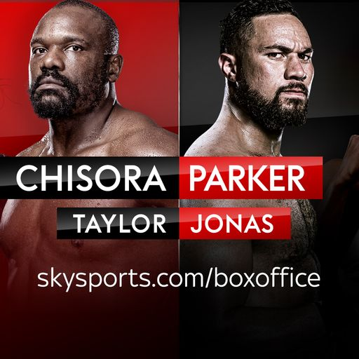 Heavyweight boxing on Saturday night