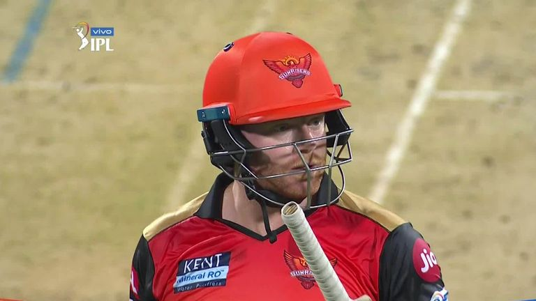 Watch the pick of the action as Sunrisers Hyderabad slip up against Mumbai Indians despite Jonny Bairstow's 43 to suffer a third straight defeat.