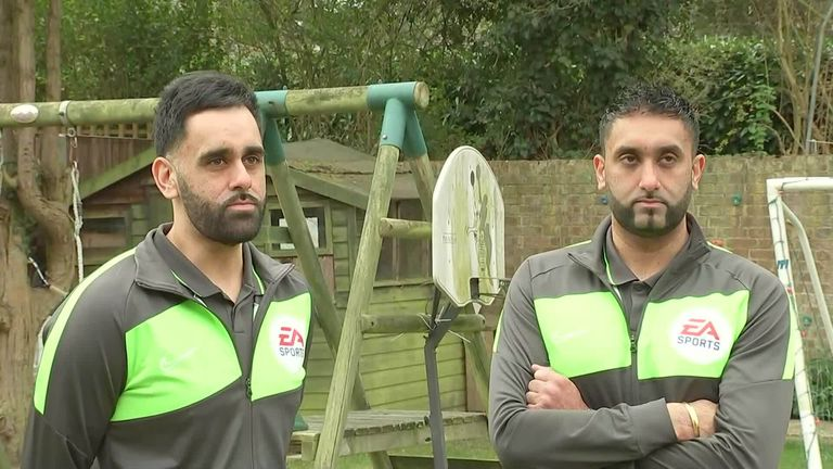 British South Asian twins Amar and Arjun Singh Purewal make Wembley history books |  Football News