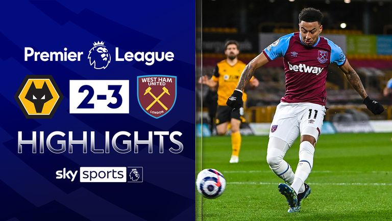 FREE TO WATCH: Highlights from West Ham's win over Wolves in the Premier League.