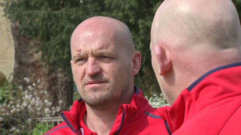 Lions attack coach Gregor Townsend says the coaching team will not select players based on which country they play for