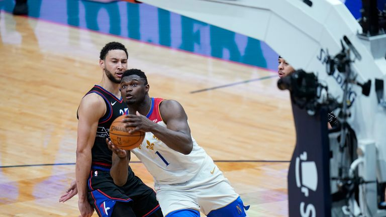 Philadelphia 76ers up against the New Orleans Pelicans in Week 16 of the NBA.