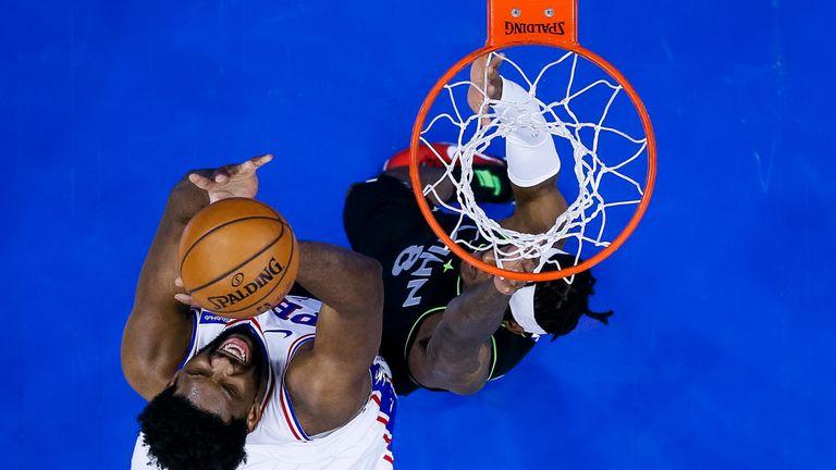 NBA: 76ers v Timberwolves