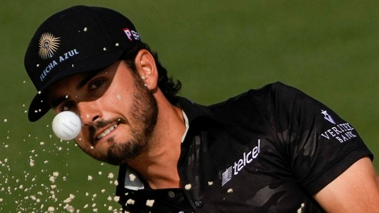 Abraham Ancer was handed a two-shot penalty after the first round