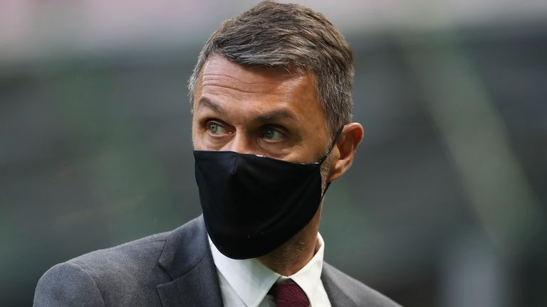 AC Milan technical director Paolo Maldini says he found out about his club's plans to join a breakaway Super League on Sunday night