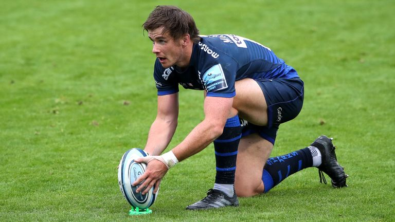 AJ MacGinty's penalty with 10 minutes left proved telling as 14-man Sale edged Gloucester