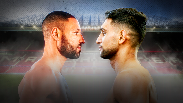 Could Brook fight Khan at Old Trafford?