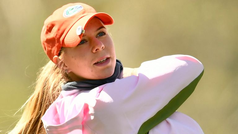 Annabell Fuller is among those in contention at the Augusta National Women's Amateur