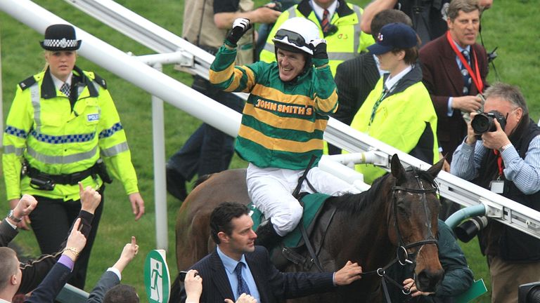 AP McCoy and Don't Push it were popular winners in 2010