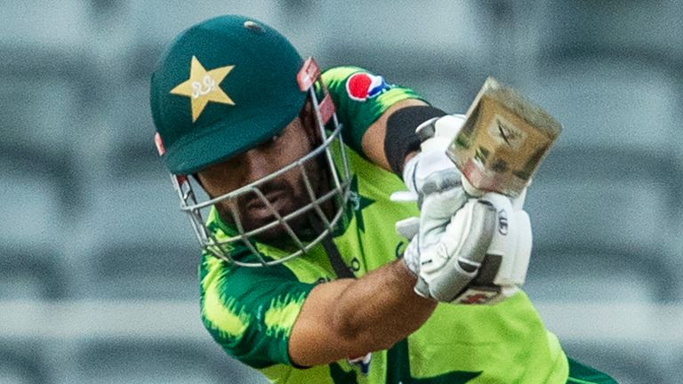 Mohammad Rizwan led the way for Pakistan with an unbeaten 82 in Harare