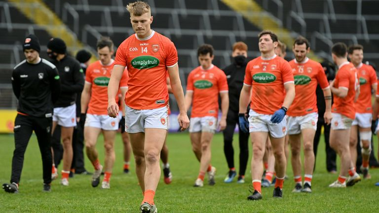 Armagh are aiming for Division 1 survival