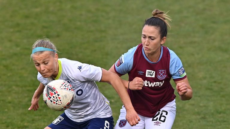 Aston Villa Women's point lifted them off the bottom of the WSL at the expense of Bristol City, who they face next