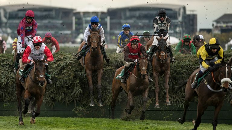 Becher's Brook is one of the most famous fences in horse racing