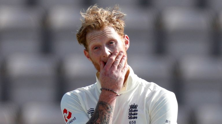 Ben Stokes' injury is being monitored by the ECB