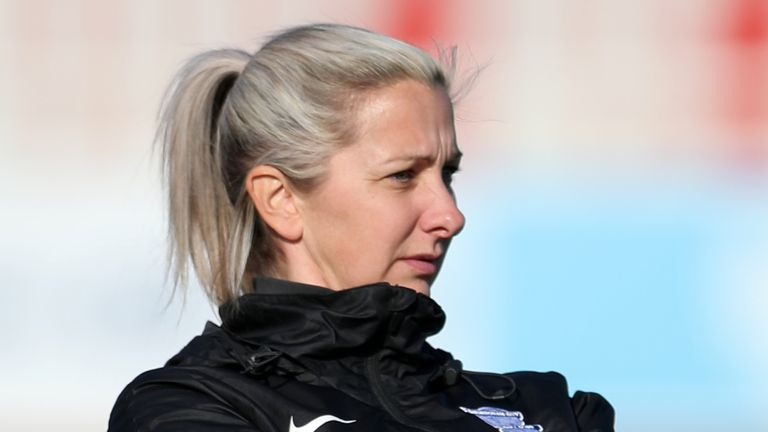 Birmingham City Women boss Carla Ward