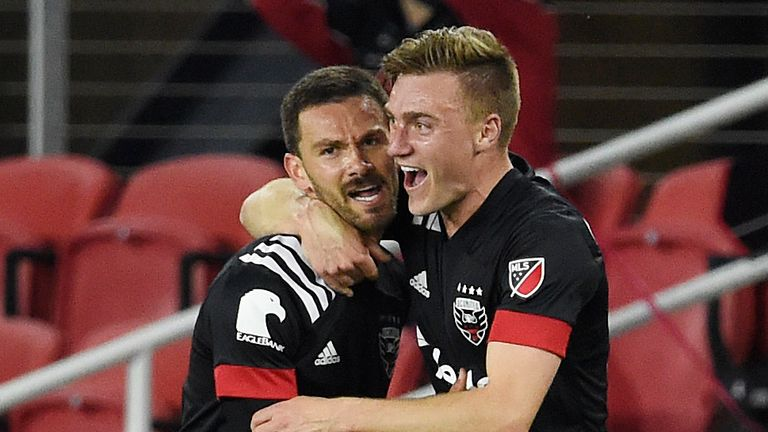 Brendan Hines-Ike scored a stunning goal for DC United