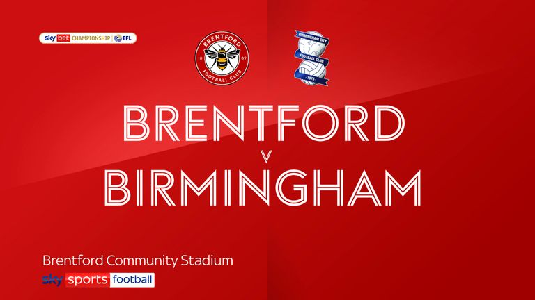 brentford v birmingham badge