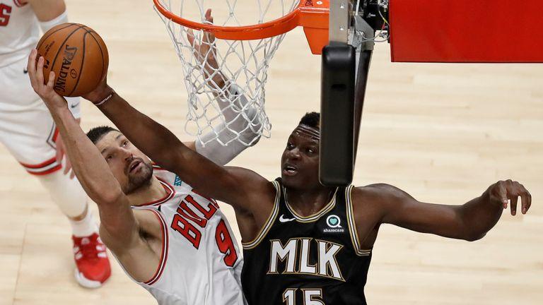 Chicago Bulls up against the Atlanta Hawks in Week 16 of the NBA.