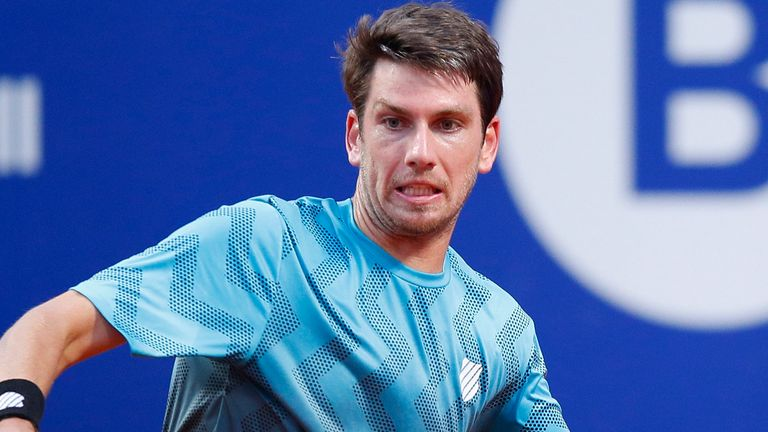 Cam Norrie made it through to a meeting with Rafael Nadal on the Barcelona clay