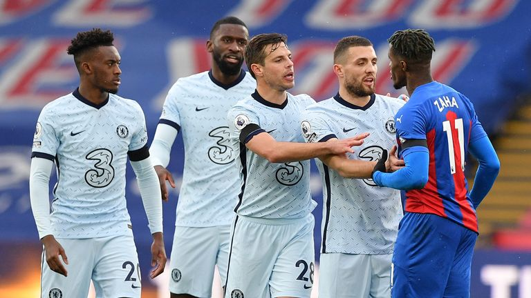 Chelsea showed their battling qualities during a comfortable win