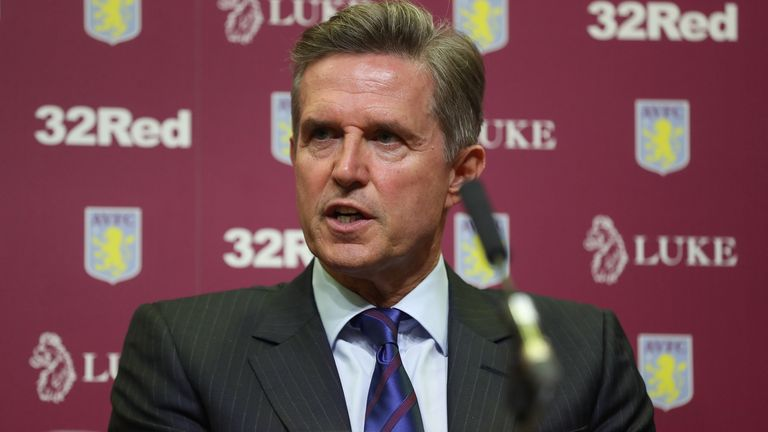 Christian Purslow, Aston Villa's chief executive, has condemned the European Super League plans