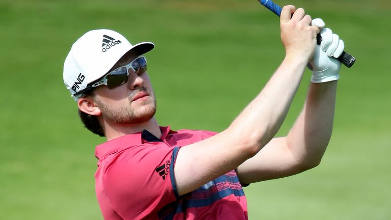 Scotland's Connor Syme is two shots off the lead in Gran Canaria