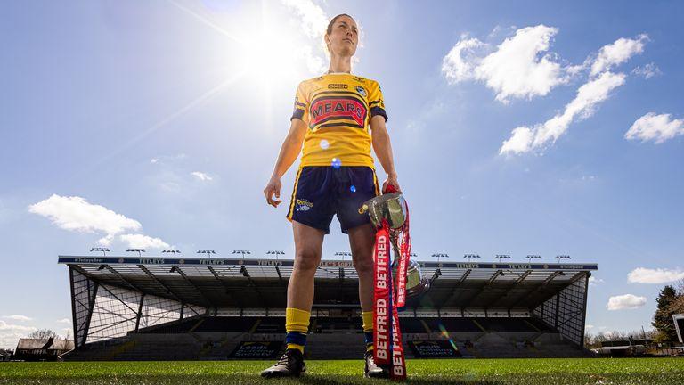 Leeds Rhinos captain Courtney Winfield-Hill