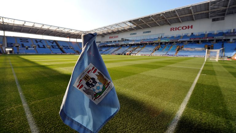 Coventry City have been punished for failing to submit their accounts on time