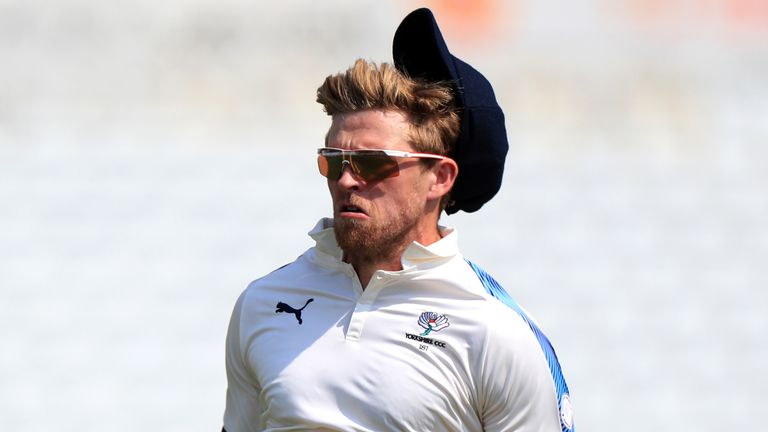 Yorkshire's David Willey took 5-61 to seal their 200-run success against Kent