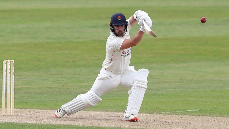 Steven Croft's century helped Lancashire set Northants an ominous total of 425 for victory at Old Trafford