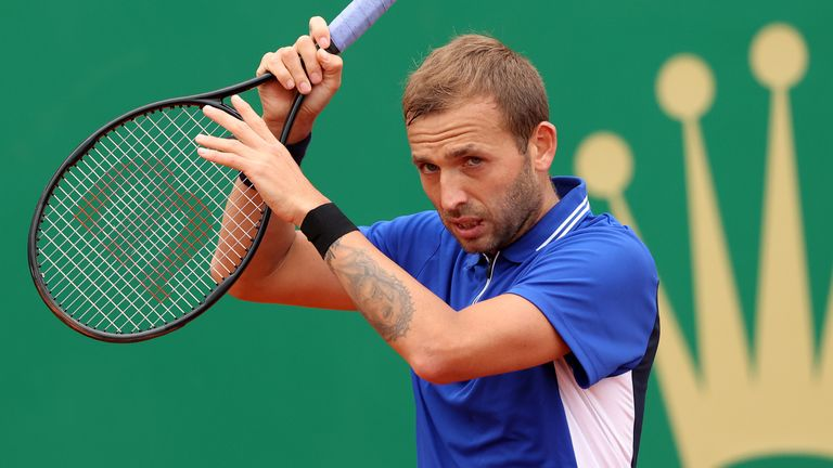 Dan Evans will equal his career-high ranking of 26 on Monday